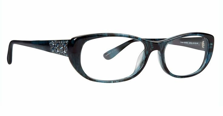 Badgley Mischka Justine Eyeglasses | Get prescription lenses with authentic fashion-forward frames