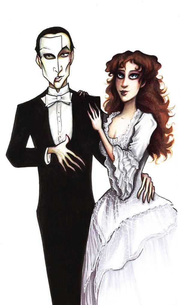 Christine The Phantom n there Son Gustav Beautiful Family