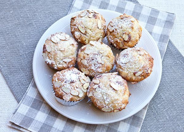 Italian Food Forever » Almond Muffins