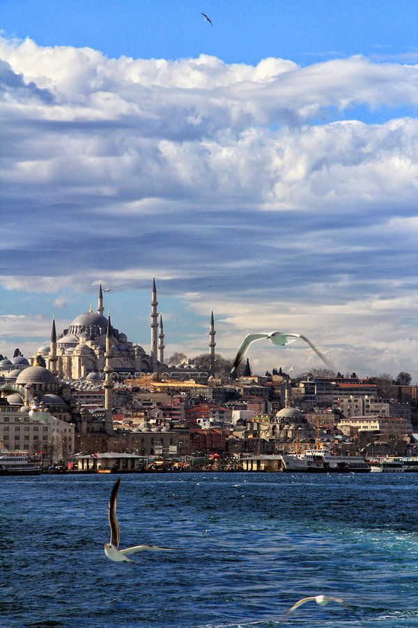 Istanbul,TURKEY by MustafaSEZER.deviantart.com on @deviantART