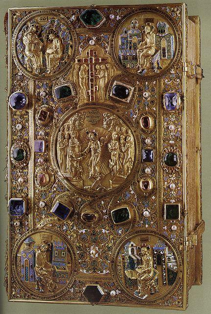 russianEnamels-Евангелие напрестольное. 1631. Мастерские Московского Кремля