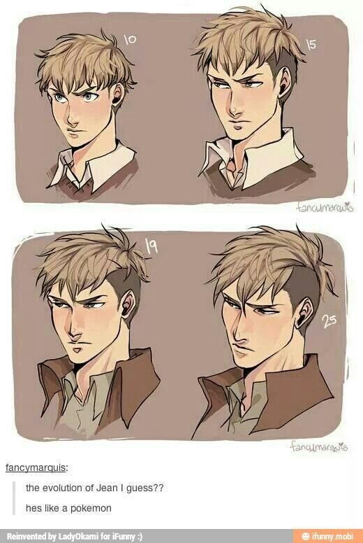 Jean kirschtein haircut