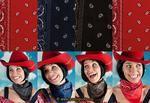 Haaraccessoires,Toebehoren-Cowboy bandana