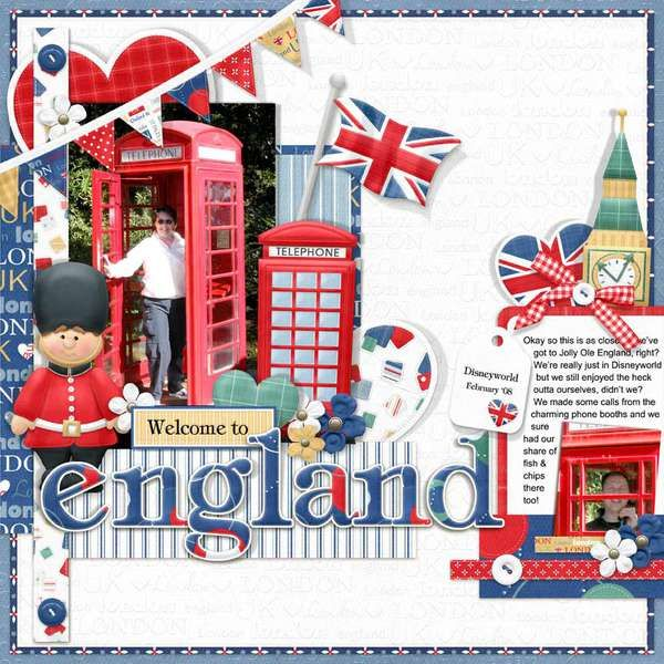welcom to England