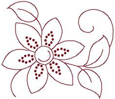 Embroidery Pattern.  ojibwe floral beadwork patterns - Google Search. jwt