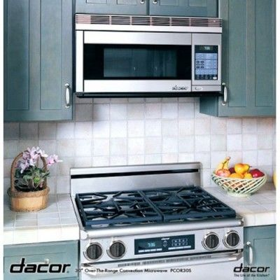 Ft Stainless Steel Over The Range Microwave Convection