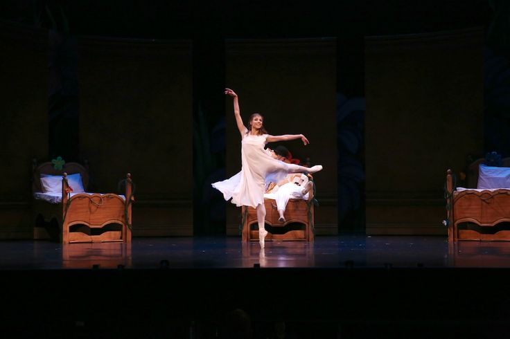 Queensland Ballet's Yanela Pinera in Peter Pan, choreographed by Trey McIntrye, Photographer David Kelly