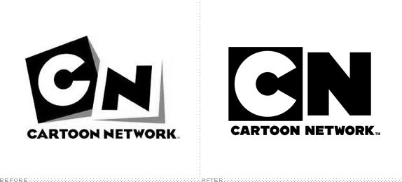 Cartoon Network Logo, Before and After
