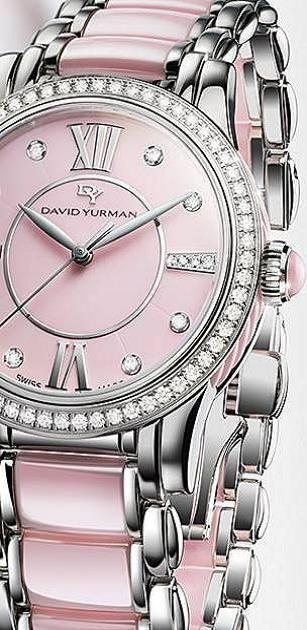 OH MY WORD! LOVE!!  Timepiece LUX  Serafini Amelia  Feminine Watch  David Yurman