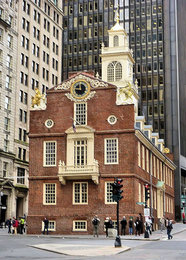 Old State House, Boston National Historical Park, Boston, Massachusetts - Built in 1713, it was the seat of the Massachusetts legislature until 1798. One of the landmarks on Boston's Freedom Trail, it is the oldest surviving public building in Boston, and acts as a history museum operated by the Bostonian Society.