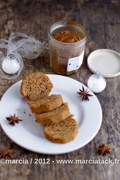 Recette du gâteau cuit en bocal: le pain d'épices - Cadeau gourmand -