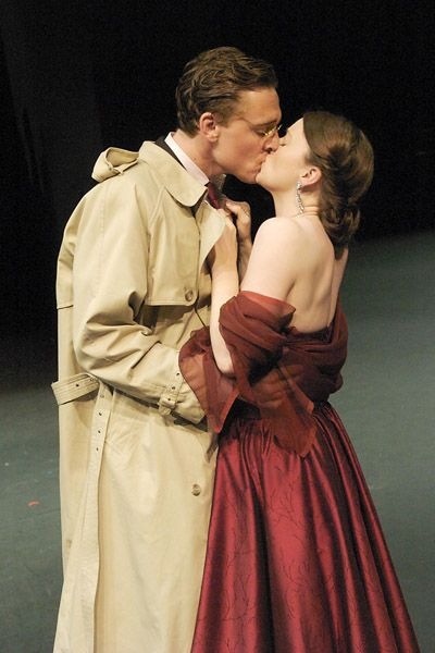 Posthumus and Imogen? Is this a production of Cymbeline or one of those pictures randomly labeled as such (of which there are several)?