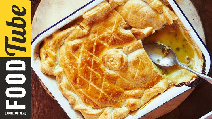 This easy chicken pie recipe is dead simple and can be knocked up in no time at all. Perfect with greens and mash, it's a great winter warmer. Jamie's here to show you every step of the way.