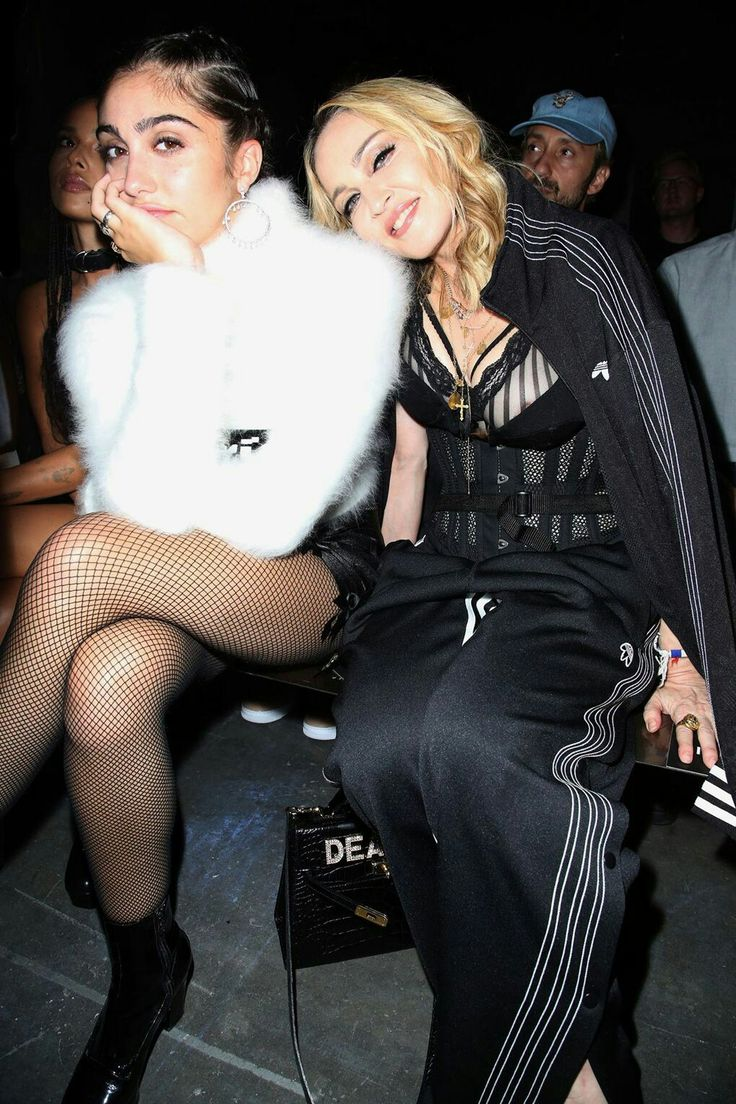 Madonna fashion show san luis obispo - Celebs And Their Cute Kids In Lourdes Leon And Madonna Sat In The Front Row At The Alexander Wang Show Spring Summer During New York Fashion Week On Sept