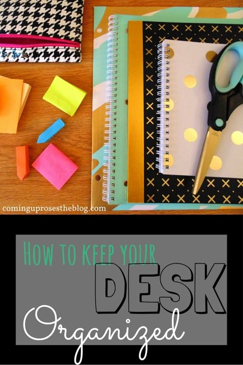 Desk organization tips with Office Depot!
