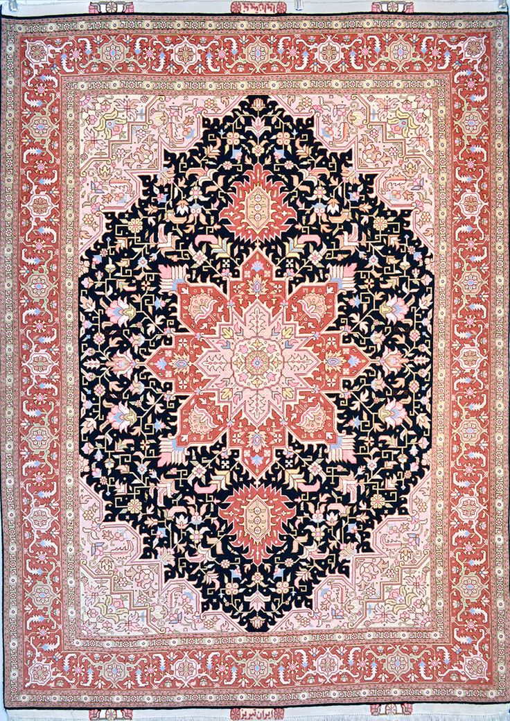 Tabriz Wool Persian Rug | Exclusive collection of rugs and tableau rugs - Treasure Gallery Retail Price: $6,900.00  You Save: 64% ($4,400.00)  Item#: 109  Category: Small(3x5-5x8) Persian Rugs  Design:   Size: 150 x 200 (cm)      4' 11 x 6' 6 (ft)  Origin: Iran  Foundation: Wool  Material: Wool & Silk  Weave: 100% Hand Woven  Age: Brand New  KPSI: 400  You Pay :$2,500