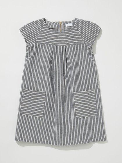 neige Maude Dress, a kid's dress, but those raglan seams are inspiring