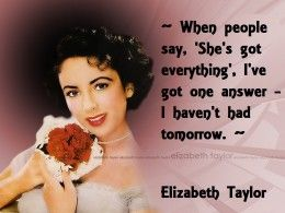 Elizabeth Taylor Quotes About Men