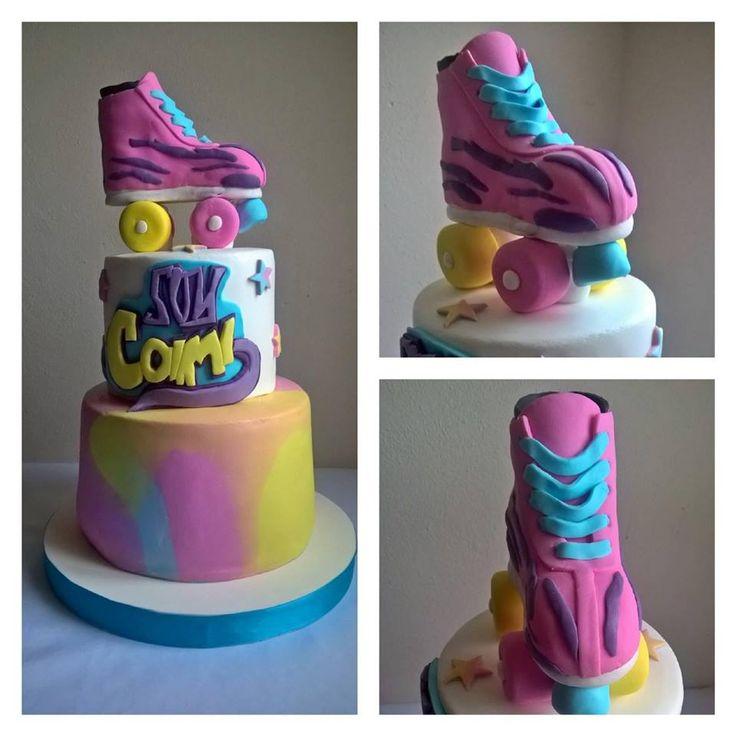 Torta de Soy Luna/ Soy Luna Cake / Roller Skate Cake #SoyLuna
