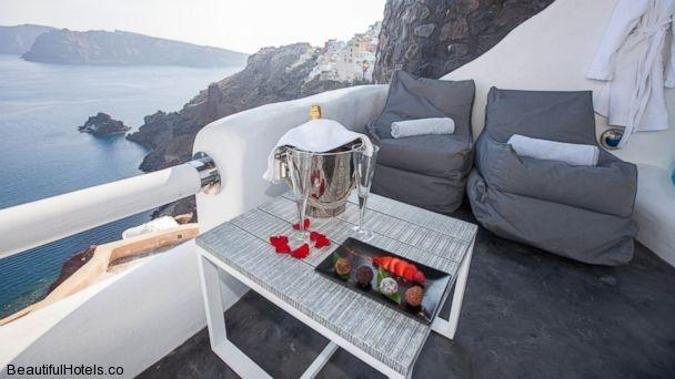 8 Romantic Hotels to spend Valentine's Day with your sweetheart: Art Maisons Luxury Santorini Hotels Aspaki & Oia Castle, Santorini, Greece