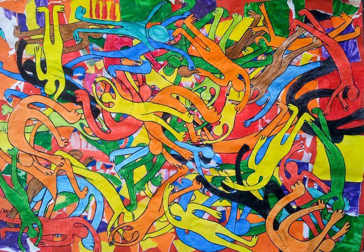 Arte con #carta di #riciclo