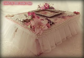 Shabby Is Chic Boutique: Shabby Altered Cigar Box by GDT Mimi C.