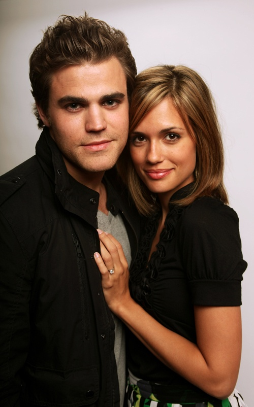 Paul Wesley and Terrey DeVitto