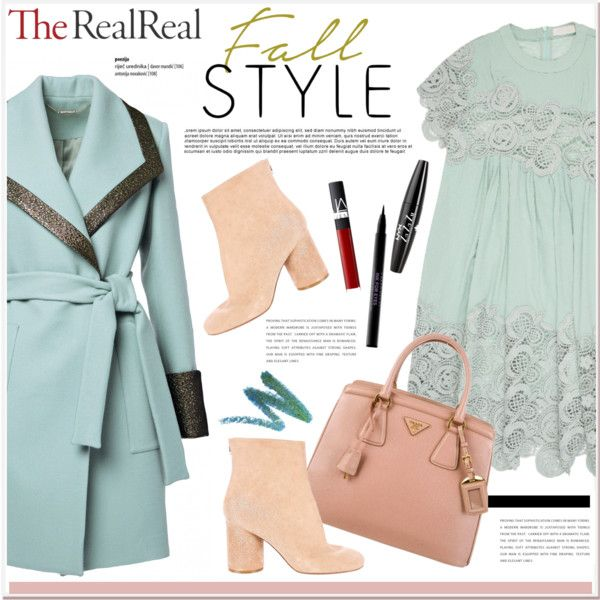Fall Style With The RealReal: Contest Entry by vidrica on Polyvore featuring Chloé, Maison Margiela, Prada, Manic Panic NYC, NYX, Urban Decay, NARS Cosmetics, polyvoreeditorial, fallstyle and TheRealReal