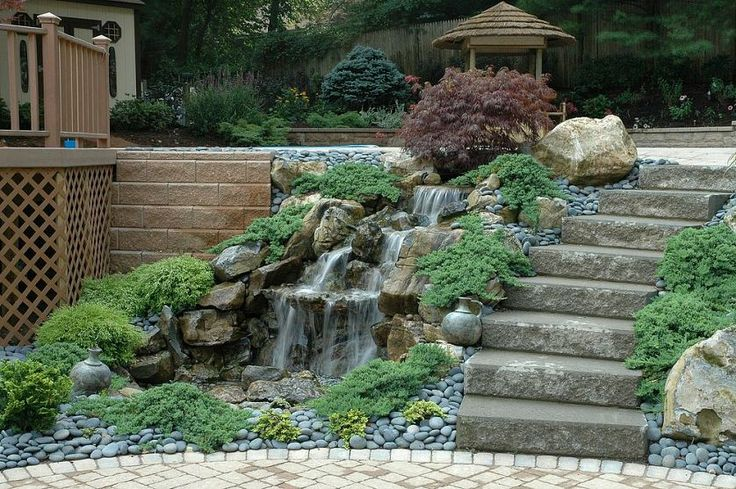 Water Retaining Landscape : Best cool idea for yard and planters images on