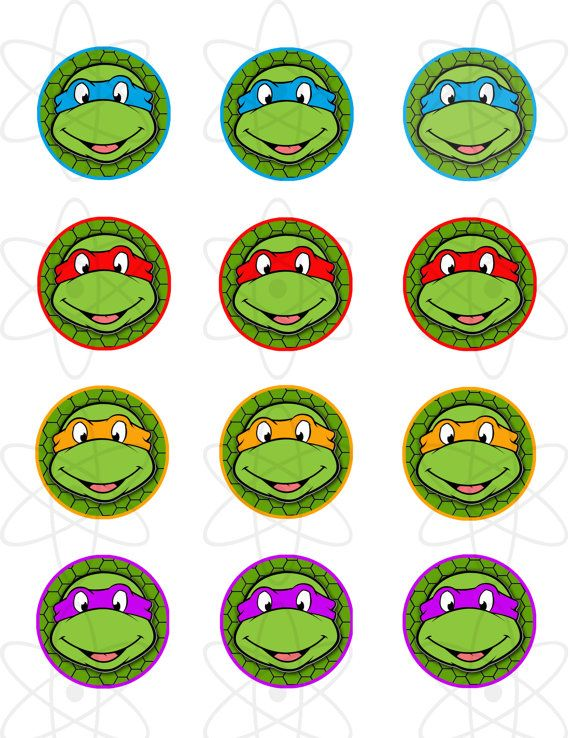 INSTANTÁNEA descargar Teenage Mutant Ninja tortugas por AtomDesign