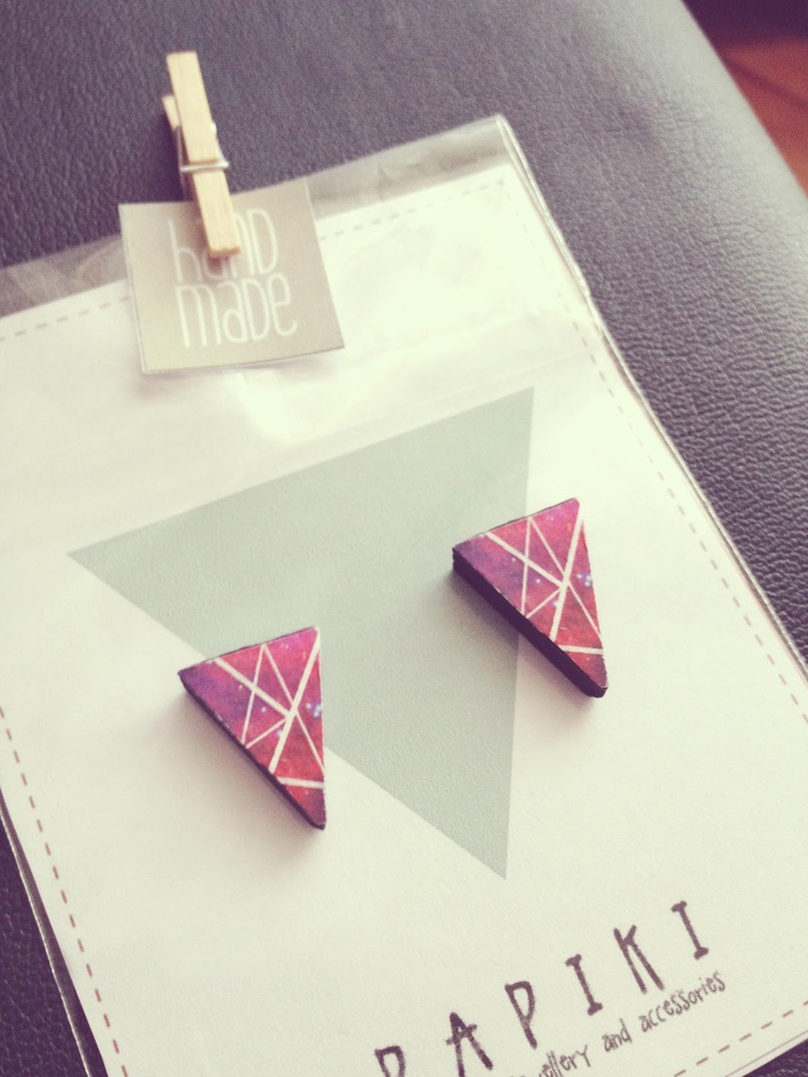 earrings from ▲ p a p i k i ▲  www.papiki.etsy.com