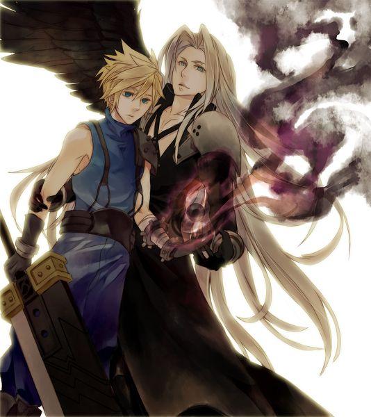 Final Fantasy Cloud Strife Wallpaper: 59 Best Images About Sephiroth & Cloud On Pinterest