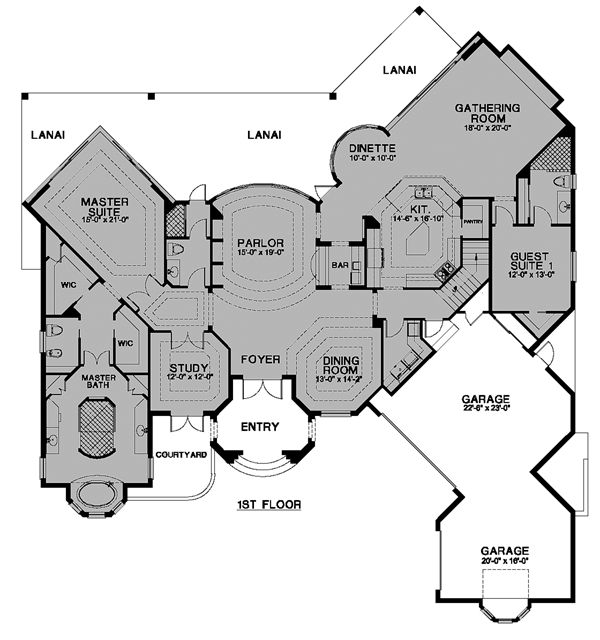 Really Cool House Floor Plans 123 best house plans images on pinterest | house floor plans