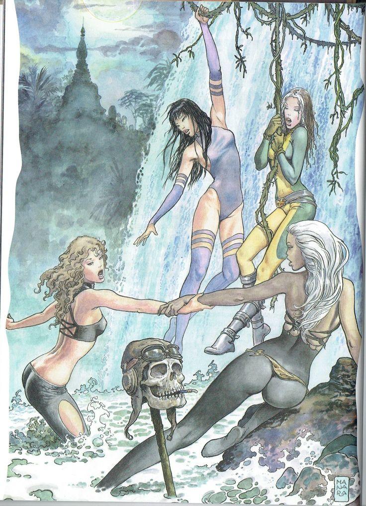 Milo Manara - Vol. 9, Manara 2000-12 (X-Women)