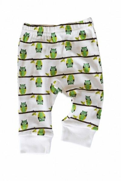Sapling Organic Cotton Pants Owls on the branch - Not Another Baby Shop - Babies, Toddlers & Kids