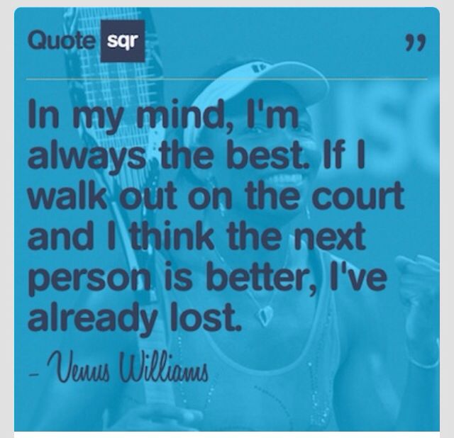 Venus William quote