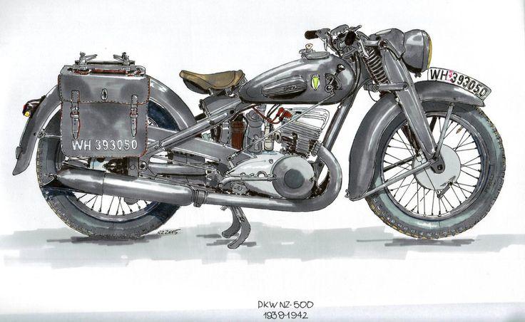 Dkw Nz-500 by pigrise on DeviantArt