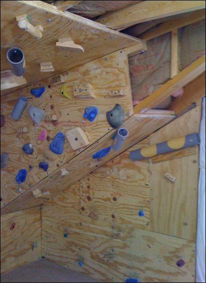 Best home climbing wall ideas on pinterest