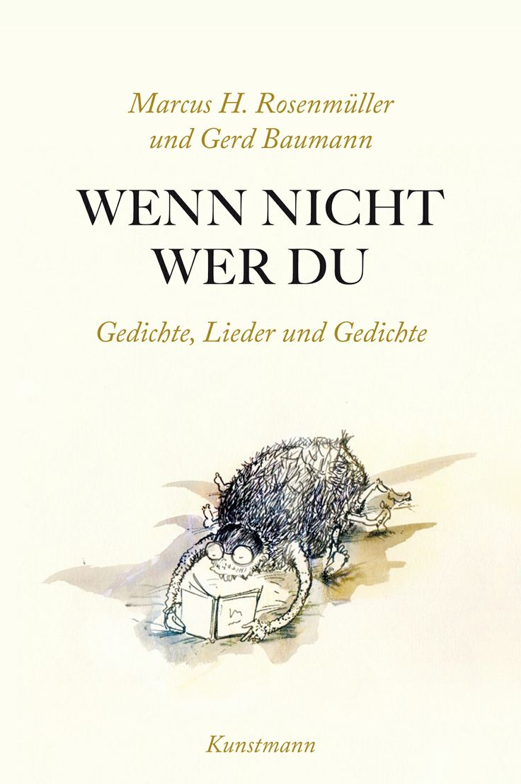 Marcus H. Rosenmüller & Gerd Baumann - Wenn nicht, wer du: »Wenn nicht wer du« beziehungsweise wer nicht, wenn Sie sind die Leser dieser verspielten, mal komischen, mal ernsten Gedichte, die die großen und kleinen Gefühle umkreisen, den Alltag, die Heimat und das »Große und Ganze«; die Sinnfragen stellen und den Sinn austreiben.