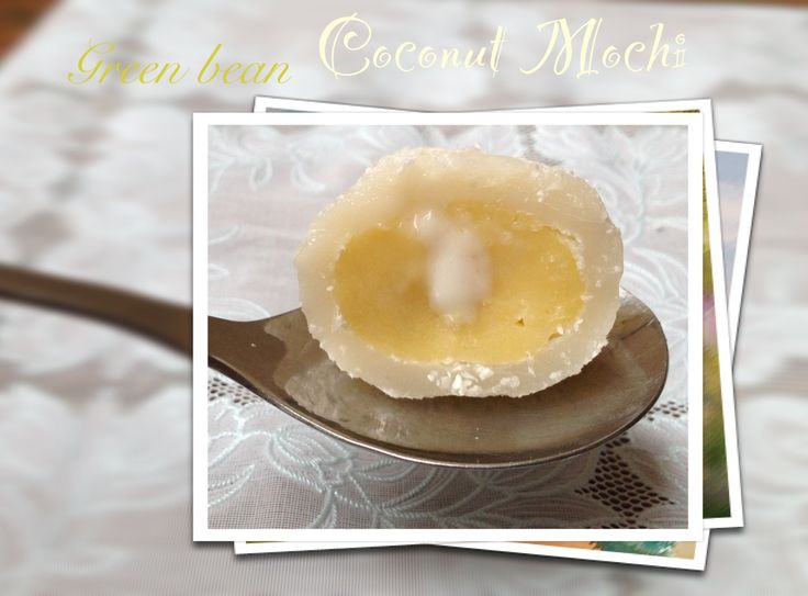 Coconut mochi