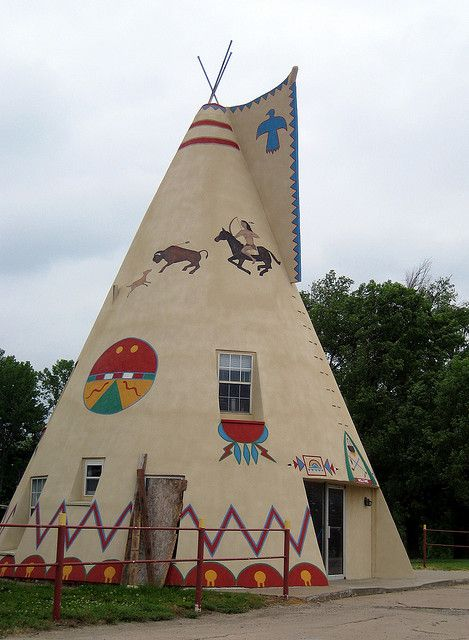 Cement Tipi Home