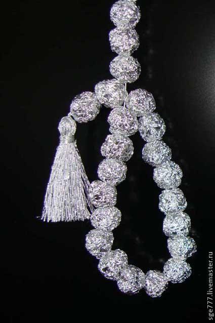 Новогодние украшения из фольги - Ярмарка Мастеров - ручная работа, handmade
