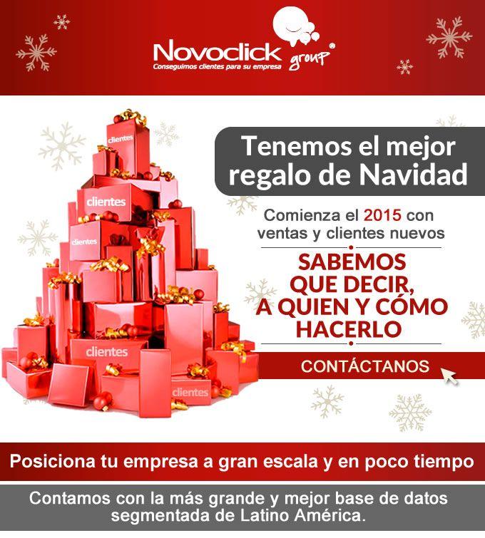 #Novoclick tenemos el mejore regalo de navidad