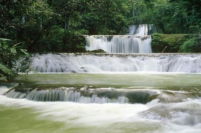 "Full-Day All-Inclusive Tour of Jamaica's South Coast Book an all-inclusive day excursion and enjoy the beautiful south coast of Jamaica. You will be greeted by the friendly smile from your tour guide and driver who will escort you in comfort and style to The Black River Safari and YS Falls. Admission at each location is included, as is lunch, which will be mouth-watering Jamaican ""juci patties.""Start your day with pick you up from your Montego Bay hotel.  You will be greeted w..."