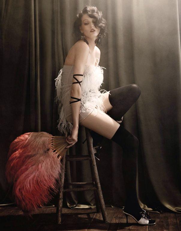 Model: Katlin Aas | Photographer: Giampaolo Sgura | Hair: James Rowe | Make-up: Jessica Nedza - for Vogue Germany, February 2014