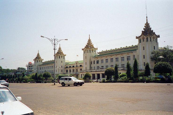 Manin Rail-Way Station