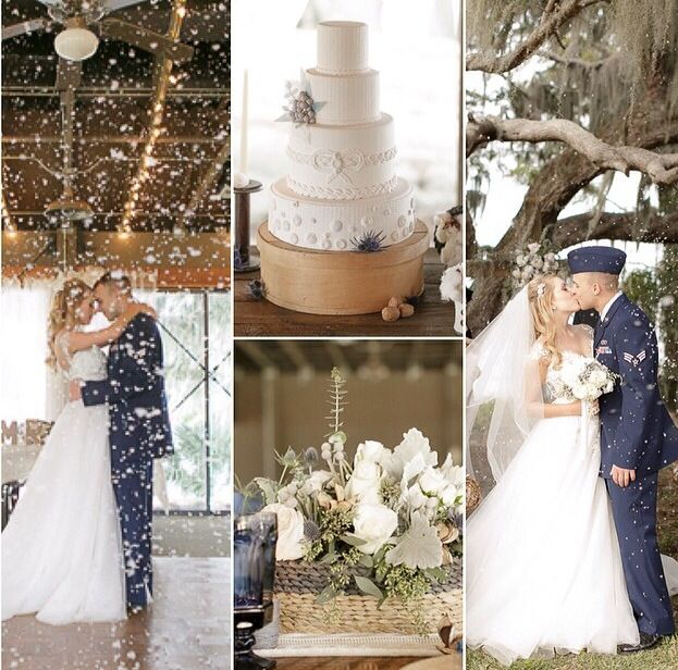 Air Force wedding. Love it. My future. Air Force wife.