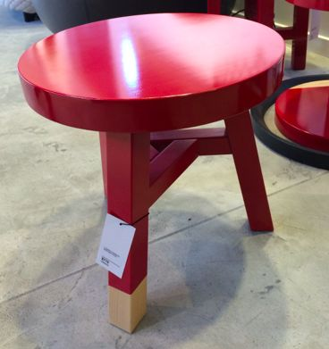 ECC. Common comrades Merchant stool. $775 retail. Not sure where to put it, just really like it.