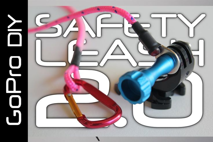 DIY SAFETY LEASH for all GoPro cameras, including HERO 4 Session - GoPro...
