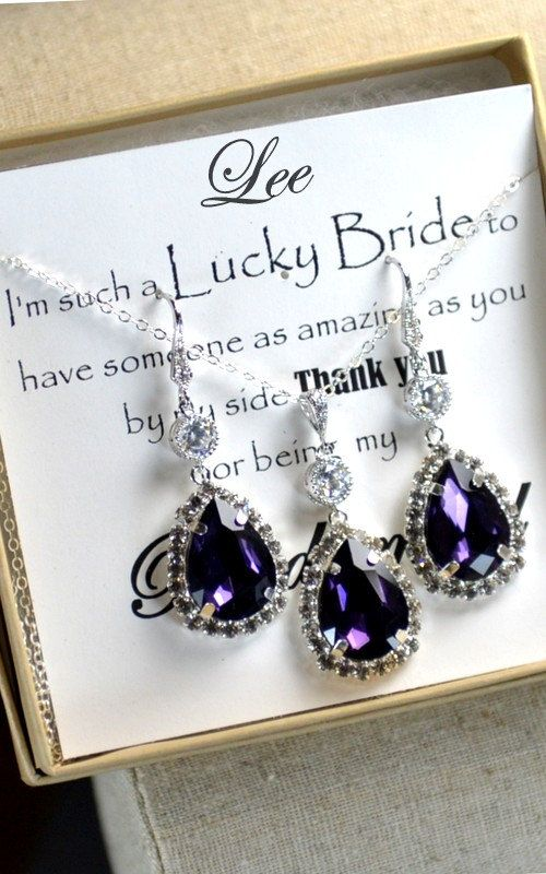 Hey, I found this really awesome Etsy listing at https://www.etsy.com/listing/169554423/bridesmaid-wedding-bridal-jewelry